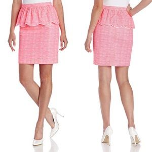 Lilly Pulitzer Thyme Pretty Gingham Pink Skirt